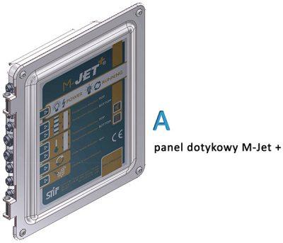 Panel dotykowy systemu M-Jet+