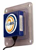 B – Vigibelt CDS 80 C – pyłoszczelny czujnik kontroli osiowego biegu taśmy
