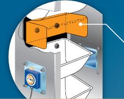 Vigibelt CDS 80 C – pyłoszczelny czujnik kontroli osiowego biegu taśmy montaż i instalacja krok po kroku